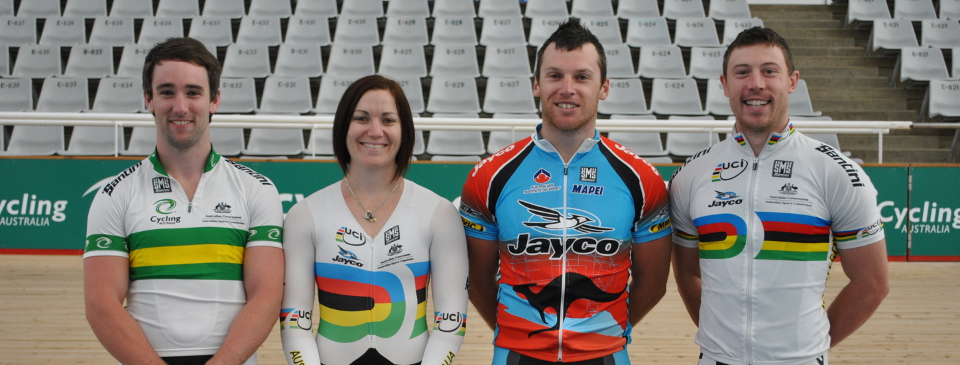 Proud suppliers of Cycling Australia